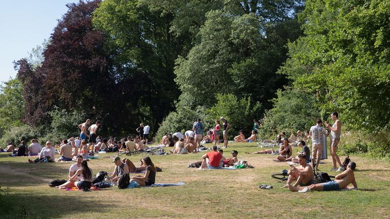 Britain is set to bask in hot weather this week