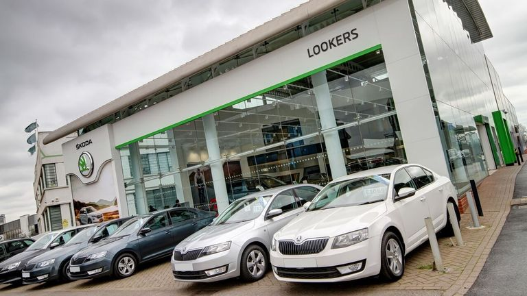 Lookers will have 136 dealerships across the UK once its latest cuts take effect. Pic: Lookers
