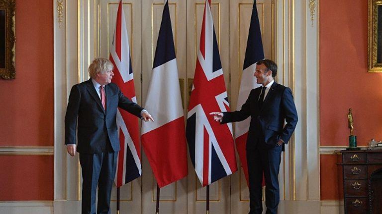 Infinite Gratitude Emmanuel Macron Thanks London For Helping French Resistance To Hitler Uk News Sky News