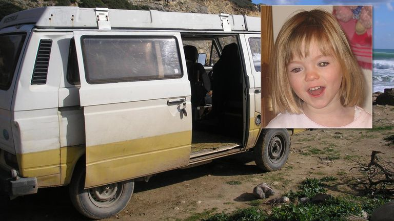 A Volkswagen camper van linked to the suspect