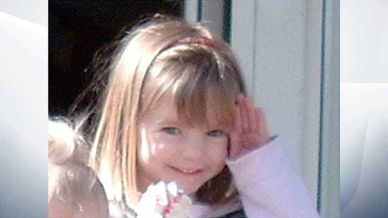Undated family handout photo of three-year-old Madeleine McCann who went missing while on holiday in Portugal. Read less Picture by: PA/PA Archive/PA Images Date taken: 04-May-2007 Image size: 1524 x 1142