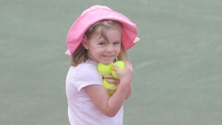 It has been confirmed that this photograph of Madeleine McCann was taken on the family's current holiday at Praia Da Luz, Algarve, Portugal. Undated McCann family handout of missing three-year-old Madeleine McCann taken during the family's current holiday at Praia Da Luz, Algarve, Portugal.