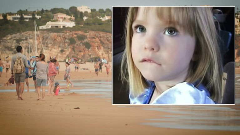 Madeleine McCann went missing in a Portuguese resort in 2007