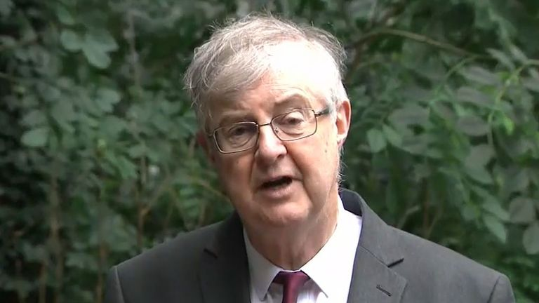 Mark Drakeford on Sophy Ridge On Sunday