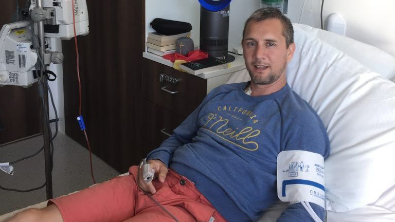 Peter McCleave, 42, needs a stem cell transplant