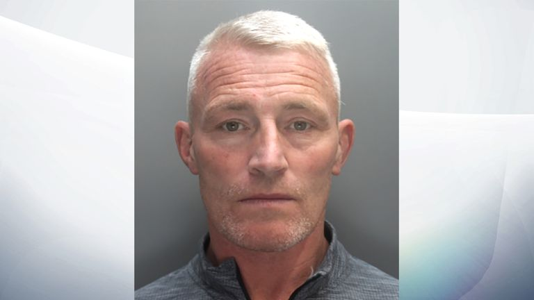 Michael Whitty, 47, was jailed for three years for arson. Pic: Merseyside Police