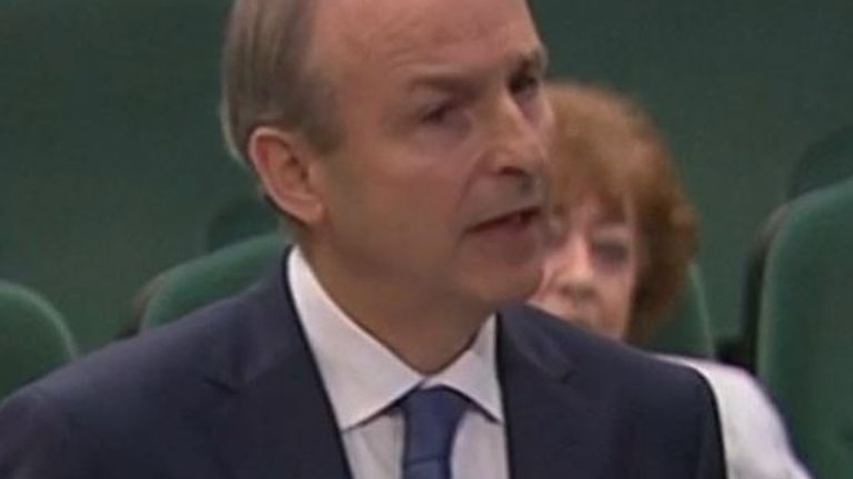 Micheal Martin becomes Irish prime minister