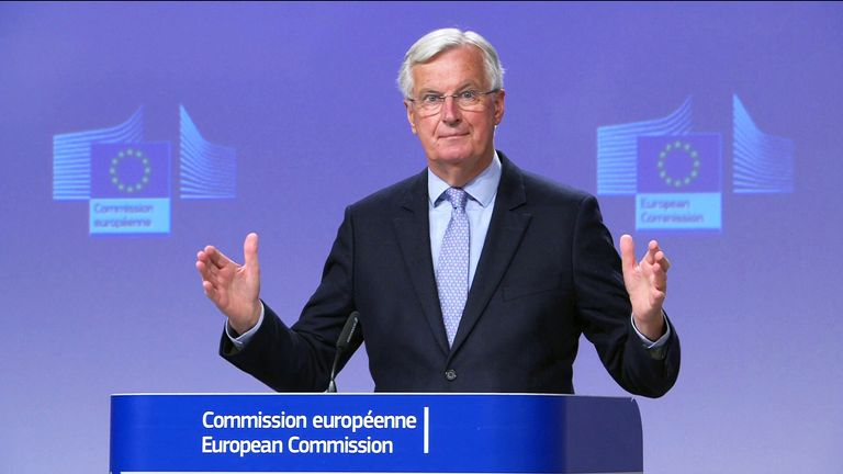 Chief Negotiator for the European Commission, Michel Barnier