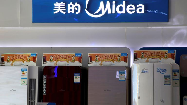 He Xiangjian is the founder of Midea Group, which sells home appliances and air conditioners worldwide