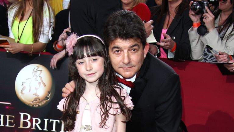 Conlin and former EastEnders co-star John Altman at the 2009 British Soap Awards