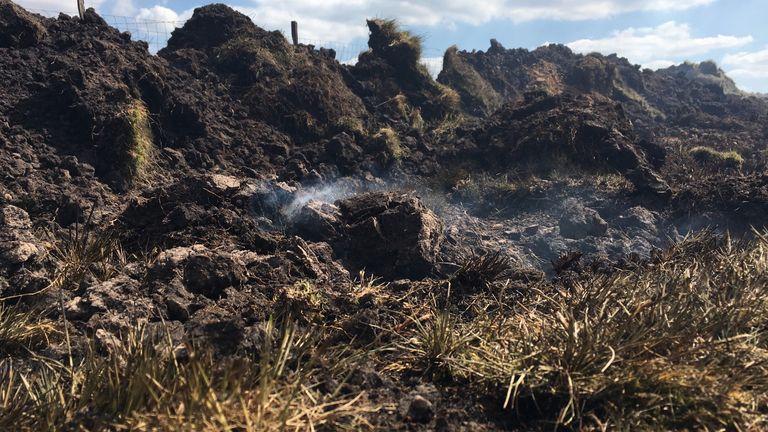 Two major incidents have been declared on Darwen Moor