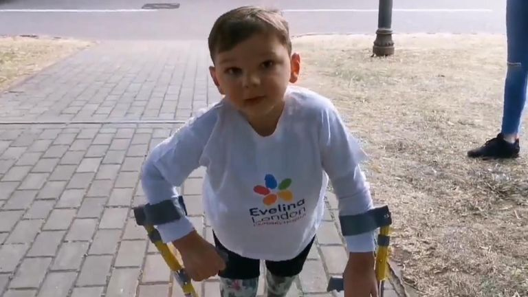 A five-year-old from West Malling, Kent, has raised more than £320,000 for the hospital that saved his life after he was inspired by Captain Tom Moore.