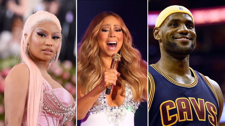 Criminals are auctioning off legal information on Nicky Minaj, Mariah Carey and LeBron James