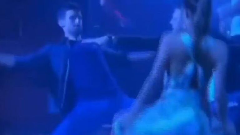 Tennis ace Novak Djokovic dances during pandemic