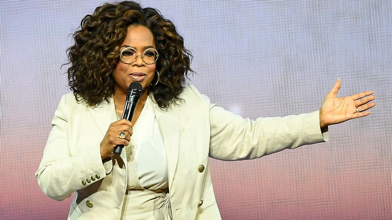 Kimmel impersonated the popular TV personality Oprah Winfrey