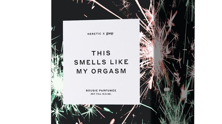 This Smells Like My Orgasm candle, launched by Gwyneth Paltrow