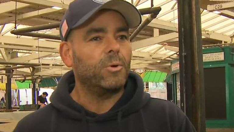 Market trader in Leicester says people are more scared this time about lockdown