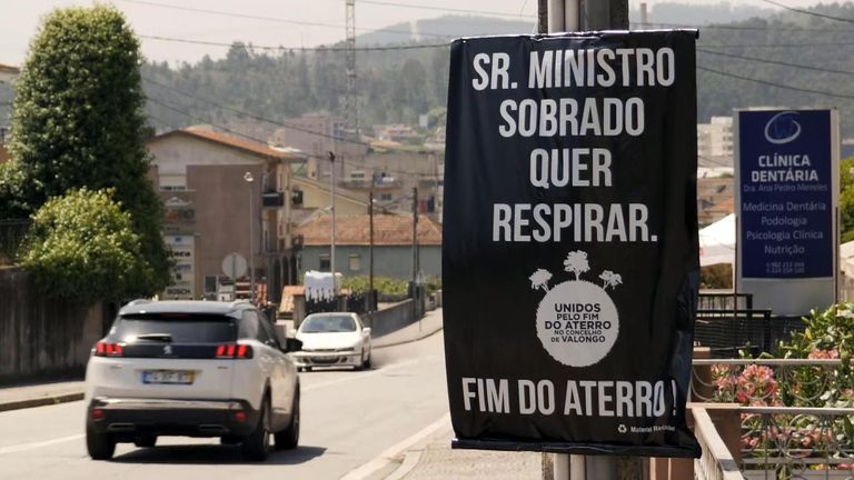 Portugal suspends imports to protect its own landfill capacity. Clifford VT