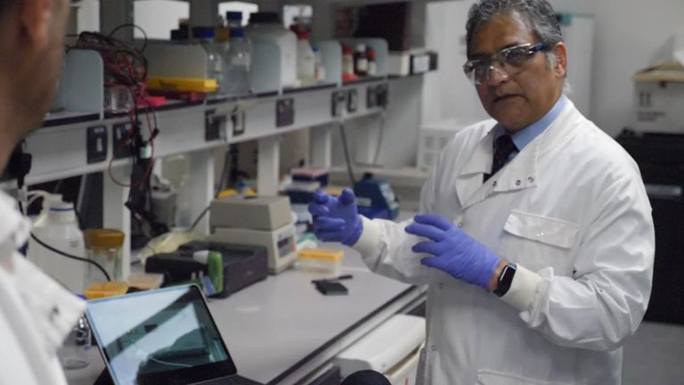 Poulam Patel pointed to the vaccine's success against cancer