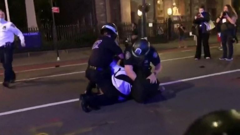 200 arrests in New York as protests continue