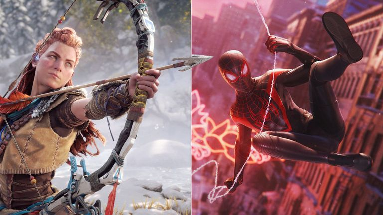 Horizon and Spiderman