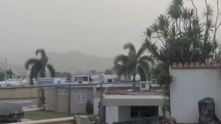 Puerto Rico is swamped by Saharan dust