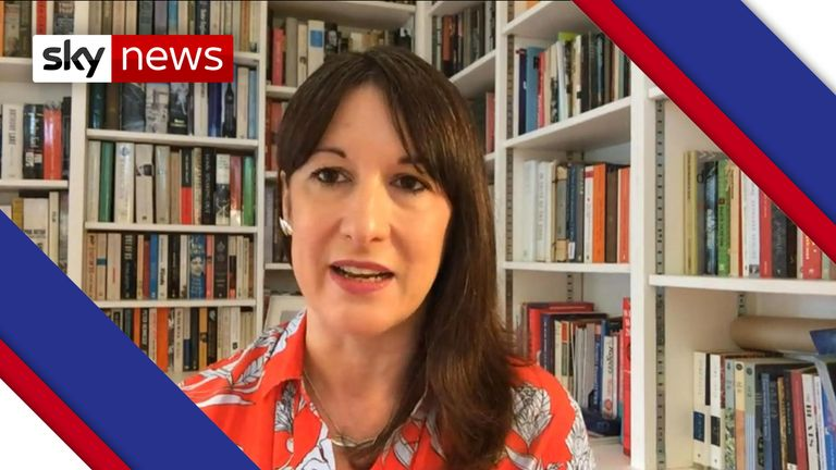 Labour Shadow Office Minister Rachel Reeves