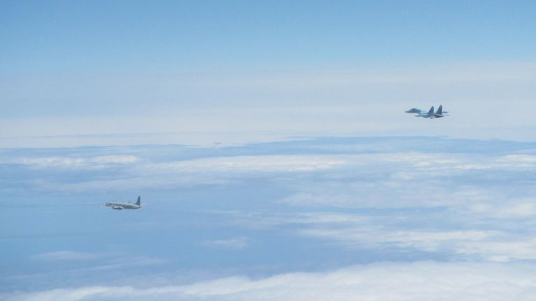 The RAF is part of a NATO operation to police the skies. Pic: RAF