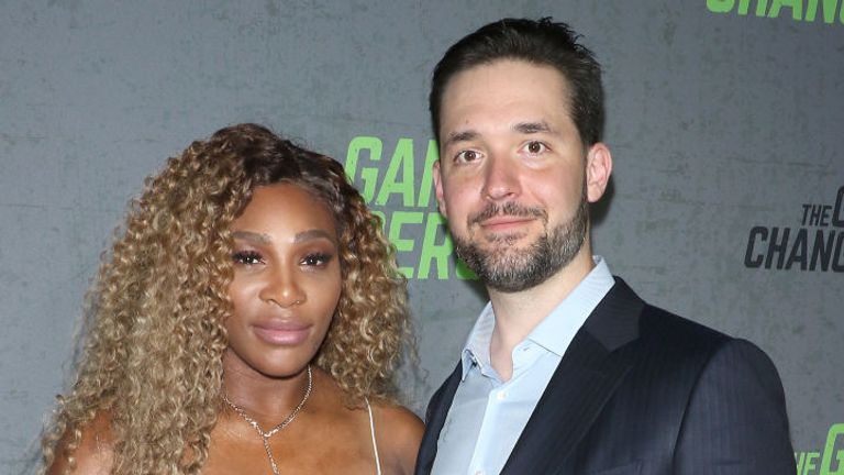 Williams and Ohanian married in 2017