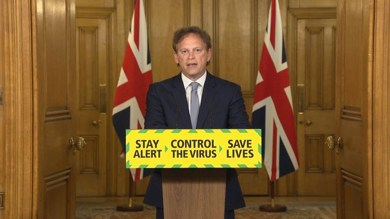 Grant Shapps still