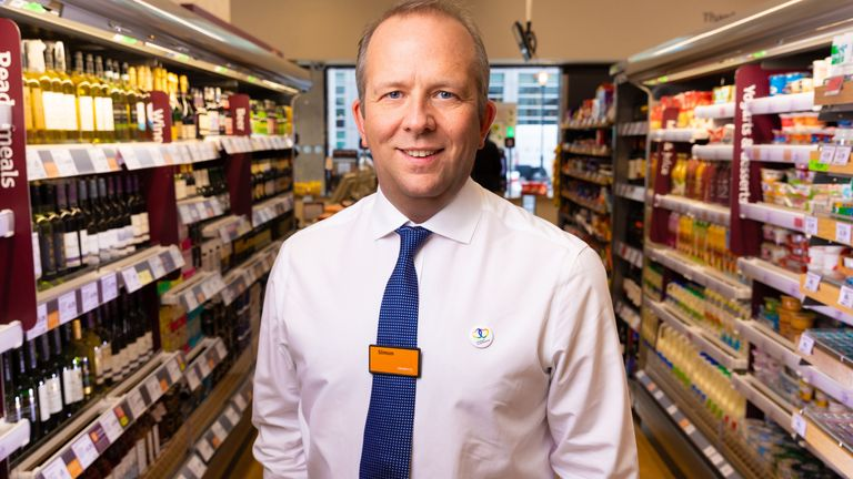 Simon Roberts became chief executive of Sainsbury's on 1 June
