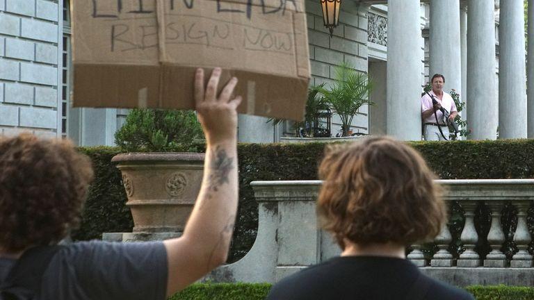 St louis protest