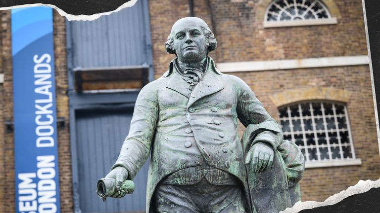 More historical statues are being targetted for their links to the slave trade.