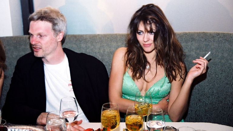 Steve Bing and Elizabeth Hurley in 2000. Pic: Bei/Shutterstock