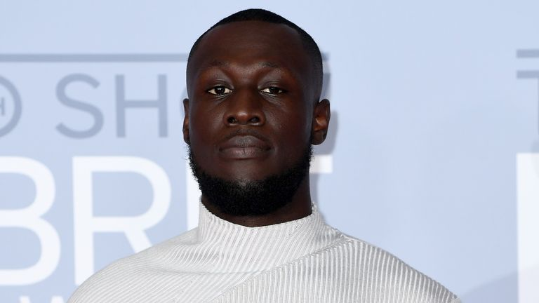 Stormzy was named best British male at the Brits 2020
