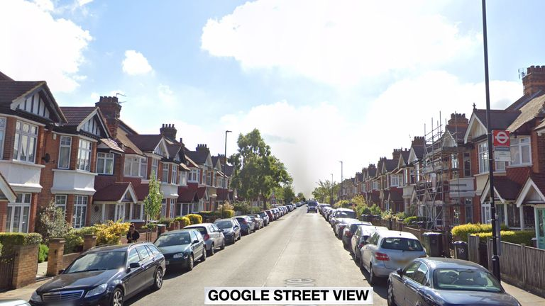 Josephine Conlon was pushing her baby's pram in Streatham, southwest London, when she was stabbed