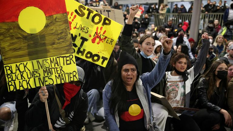 Some protests have already been held in Sydney. File pic