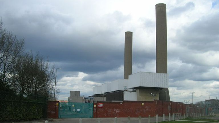 Taylor's Lane Power Station. Pic: R Sones