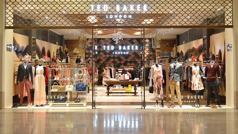 Ted Baker has 560 stores and concessions worldwide