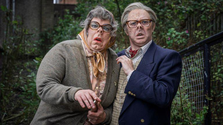 The League of Gentlemen. Pic: BBC