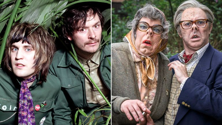The Mighty Boosh and The League Of Gentlemen. Pics: BBC