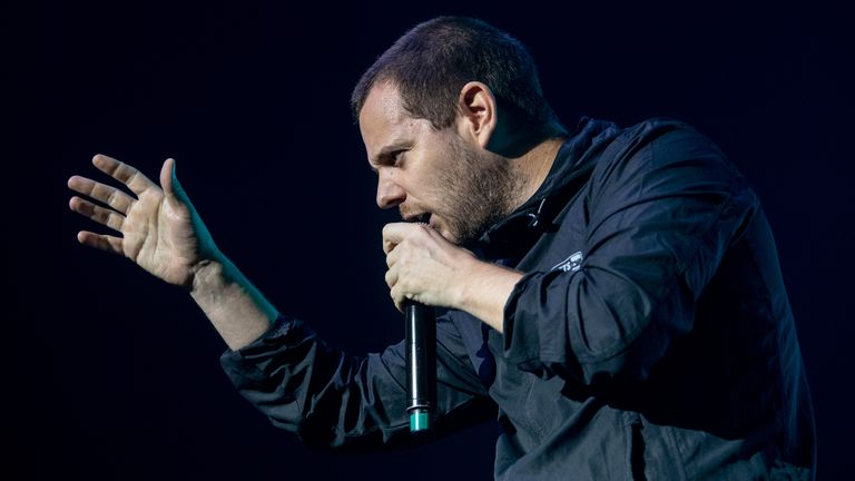 Mike Skinner from The Streets performs in New Zealand in 2019