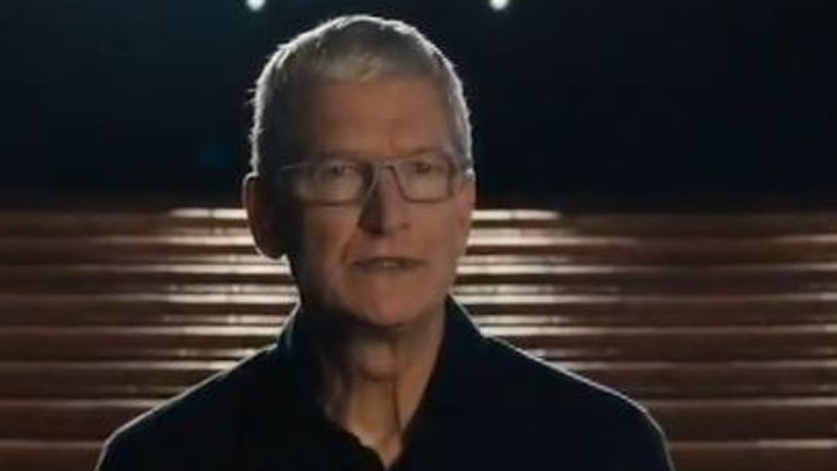 Tim Cook addresses the issue of racism