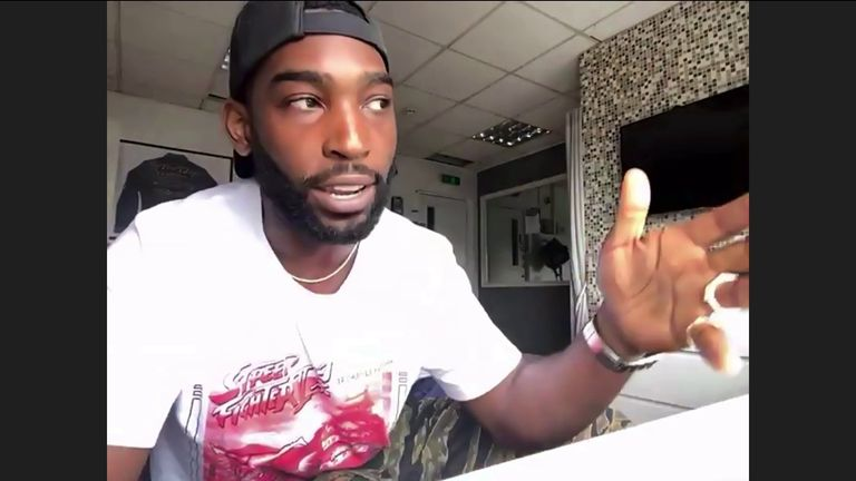 Musician Tinie Tempah talks about the pain of George Floyd's death, calling for all officers present to be held to account.