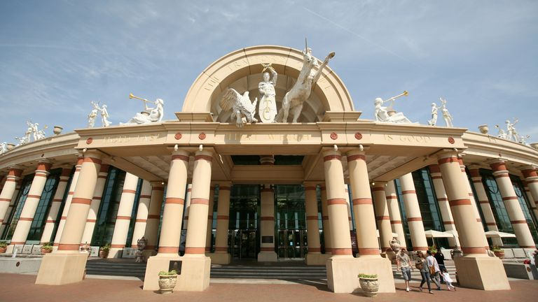General view of the Trafford Centre in Manchester, Wednesday May 4, 2011. Pic Dave Thompson.
