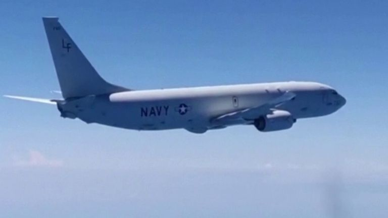 US reconnaissance flight intercepted by Russian jet over Black Sea
