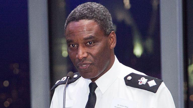 Pic: Dinendra Haria/Shutterstock  Haringey Borough police commander chief superintendent Victor Olisa, London, Britain - 09 Sep 2014 Victor Olisa  9 Sep 2014