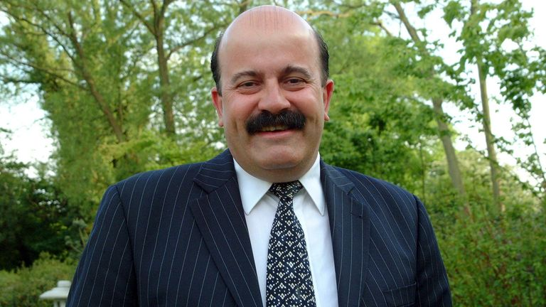 Willie Thorne. Pic: Gillian Shaw/Shutterstock