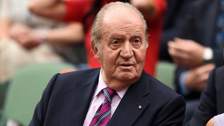 Former Spanish king Juan Carlos is being investigated over his dealings with Saudi Arabia