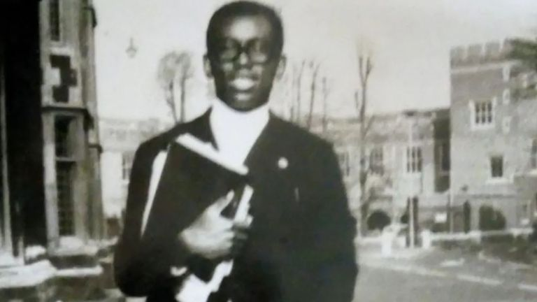 Dillibe Onyeama was the first black person to complete his studies at Eton. WAITING FOR CLEARANCE BEFORE WE CAN USE.